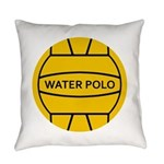 Water Polo Ball Everyday Pillow