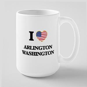 I love Arlington Washington Mugs