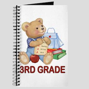 School Days Teddy - 3rd Grade Journal