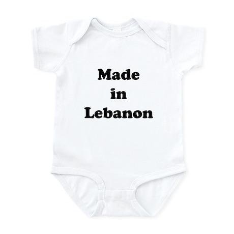 Made in Lebanon Infant Bodysuit