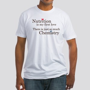 Nutrition Chemistry Fitted T-Shirt