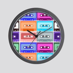 cassettes Wall Clock