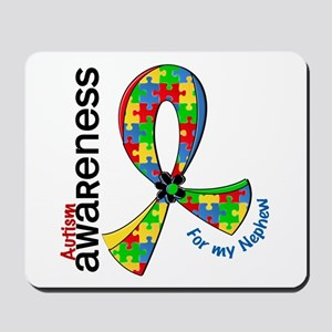 For My Nephew Autism Mousepad