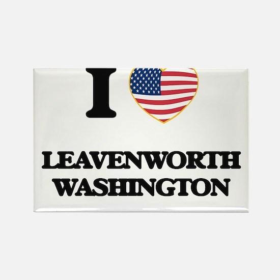 I love Leavenworth Washington Magnets