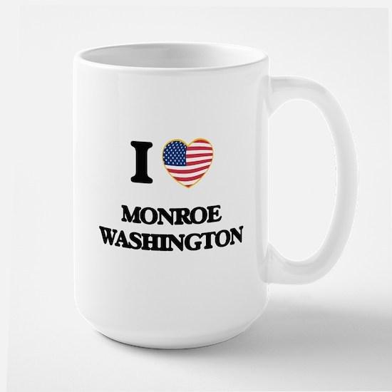 I love Monroe Washington Mugs