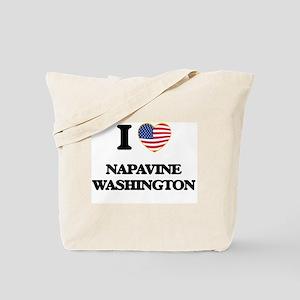 I love Napavine Washington Tote Bag