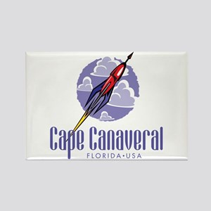 Cape Canaveral Rectangle Magnet