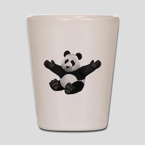 3D Fluffy Panda Bear Shot Glass