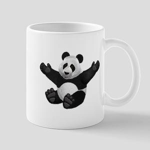 3D Fluffy Panda Bear Mugs