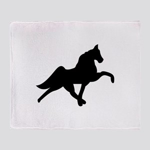 Tennessee Walker Throw Blanket