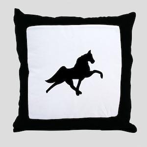 Tennessee Walker Throw Pillow