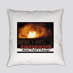 Firefighter Honor Pride Courage Everyday Pillow