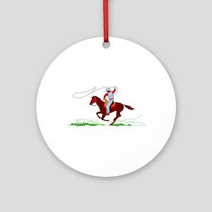 Roper Ornament (Round)