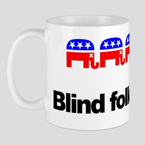 """GOP is Blind"" Mug"
