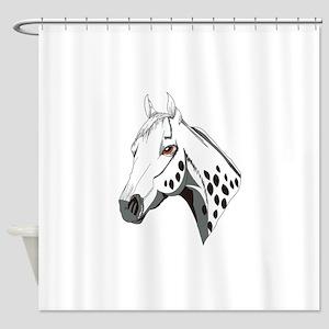 Appaloosa Head Shower Curtain