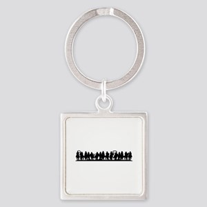 Horses Silhouette Keychains