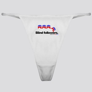 """GOP is Blind"" Classic Thong"