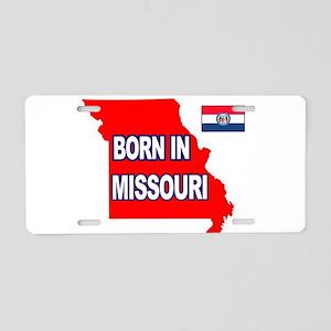 MISSOURI BORN Aluminum License Plate