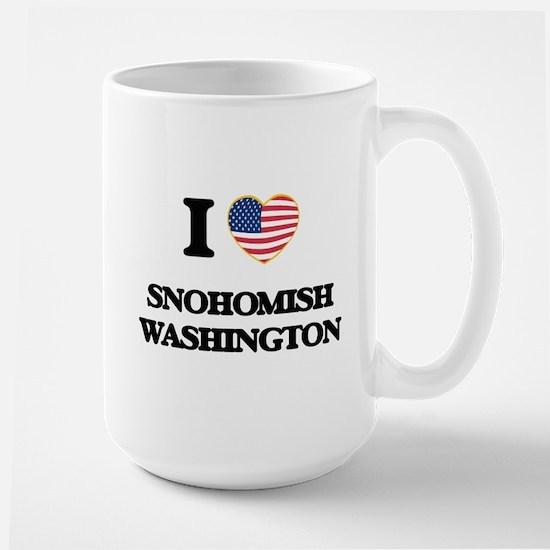 I love Snohomish Washington Mugs