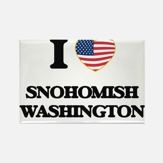 I love Snohomish Washington Magnets