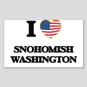 I love Snohomish Washington Sticker