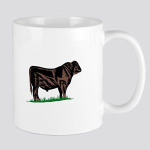 Black Angus Steer Mugs