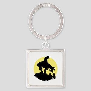Rider Silhouette Keychains