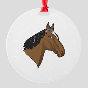 Standardbred Head Ornament