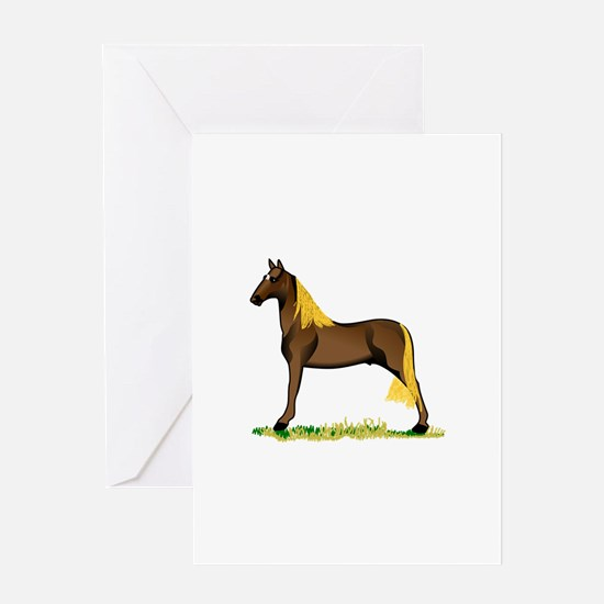 Tennessee Walking Horse Greeting Cards