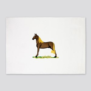 Tennessee Walking Horse 5'x7'Area Rug