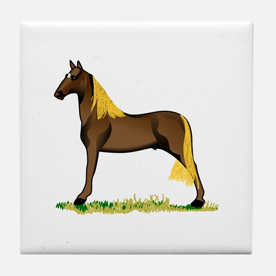 Tennessee Walking Horse Tile Coaster