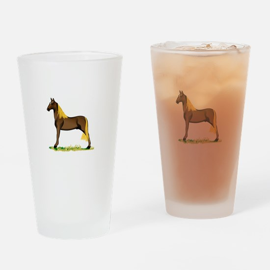 Tennessee Walking Horse Drinking Glass