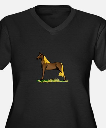 Tennessee Walking Horse Plus Size T-Shirt