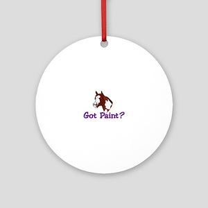 Got Paint? Ornament (Round)