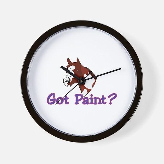 Got Paint? Wall Clock