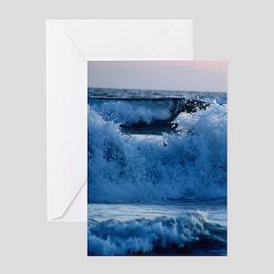 Crash/Vertical Greeting Card