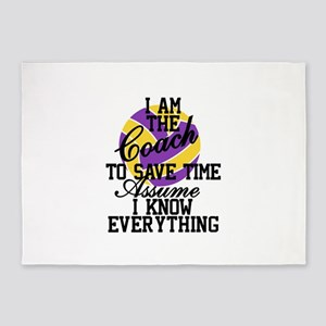 I Am The Coach To Savae Time Assume I Know Everyth