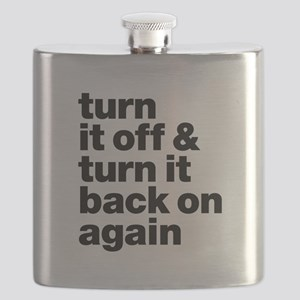 Turn It Off & Back On Again - Flask
