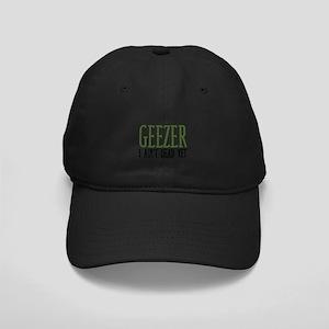 Geezer Black Cap