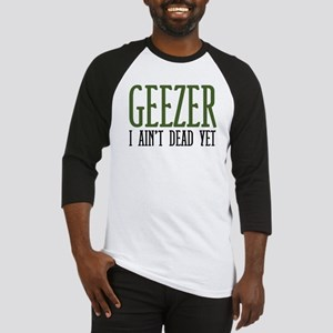 Geezer Baseball Jersey