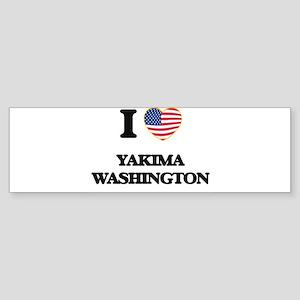 I love Yakima Washington Bumper Sticker