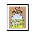 Goat-Outstanding Framed Panel Print