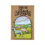 Goat-Outstanding Rectangle Magnet (100 pack)
