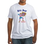BIBLE DOGS Fitted T-Shirt
