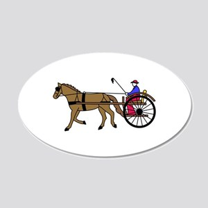 Horse and Buggy Wall Decal