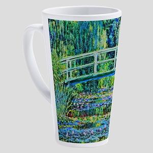 Monet - Water Lily Pond 17 oz Latte Mug