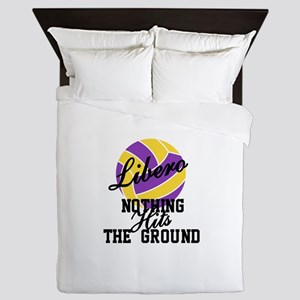 Nothing Hits The Ground Queen Duvet