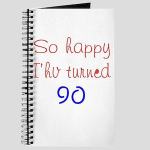 So Happy I'hv Turned 90 Journal