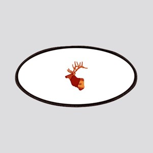Elk silhouette Patch