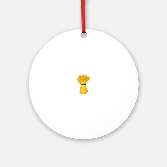Wheat shock Ornament (Round)